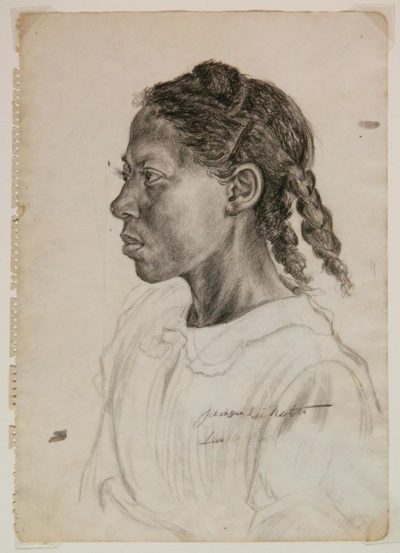 Jackson Lee Nesbitt graphite - 2