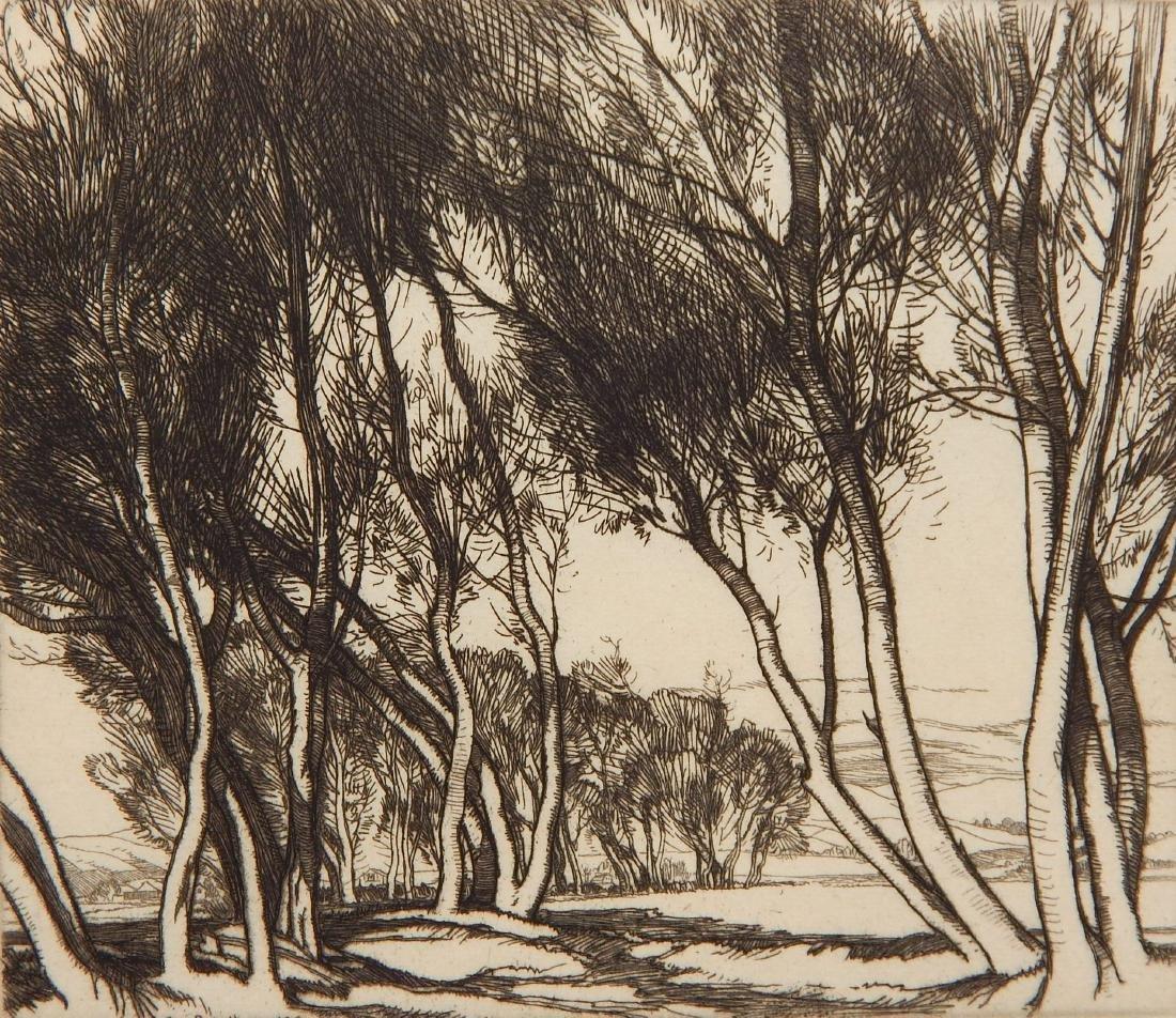 Roi Partridge etching