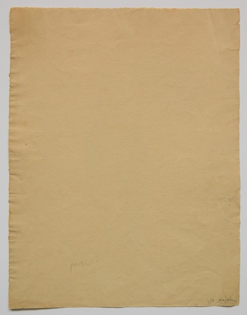 Attrib. to William M. Paxton 2 conte crayon - 8