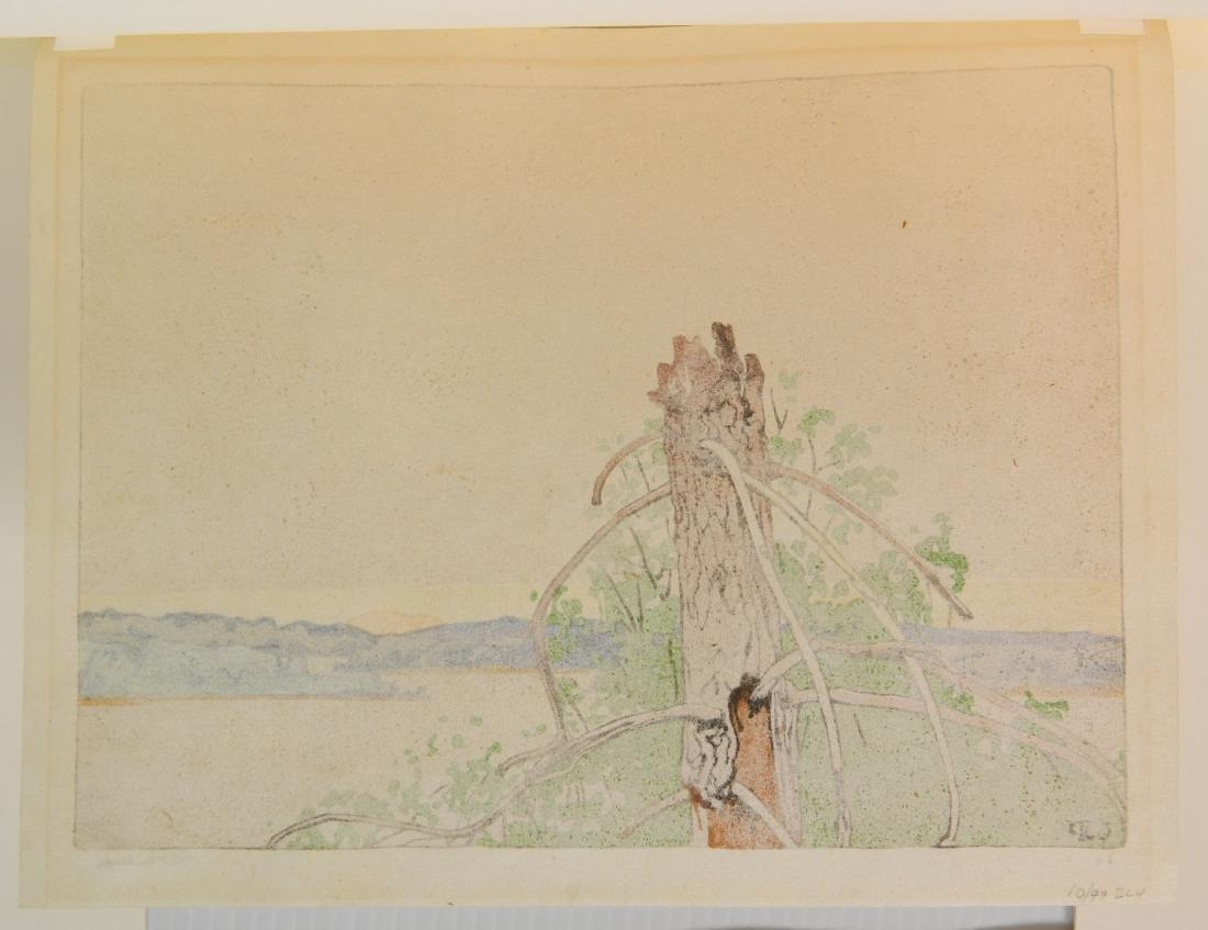 Walter J. Phillips woodcut - 4