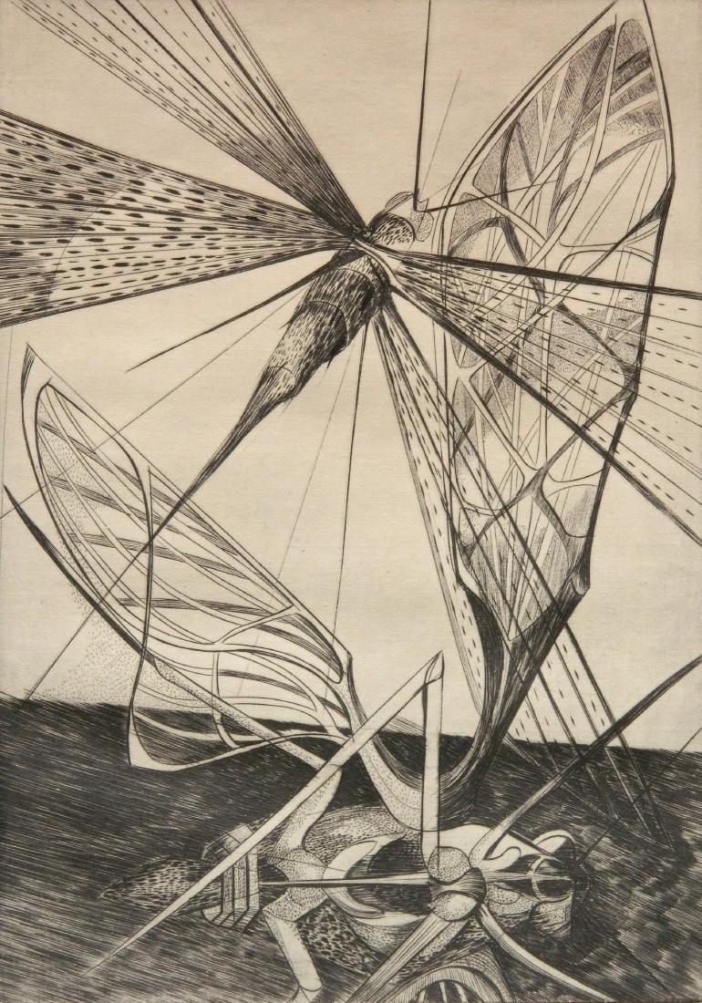 Walter R. Rogalski engraving