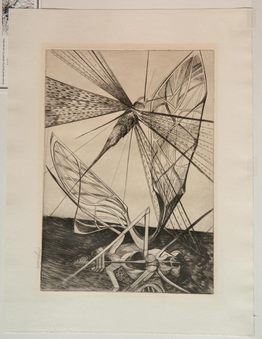 Walter R. Rogalski engraving - 2