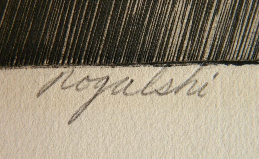 Walter R. Rogalski engraving - 3