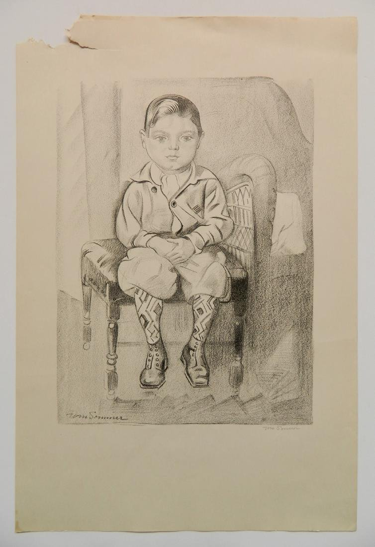 William Sommer lithograph - 2