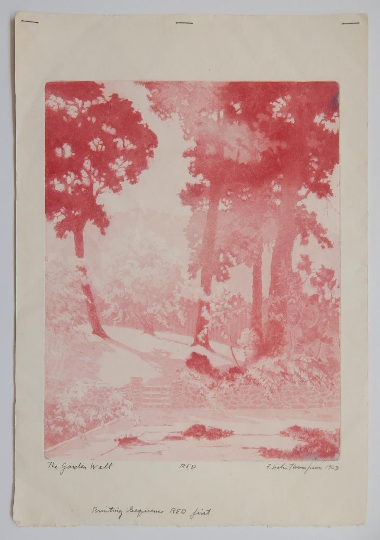 F. Leslie Thompson aquatint - 4