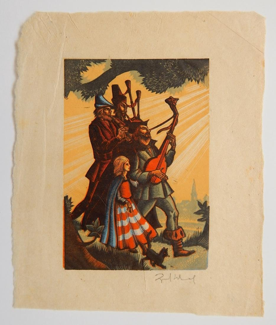 Lynd Ward wood engraving - 2