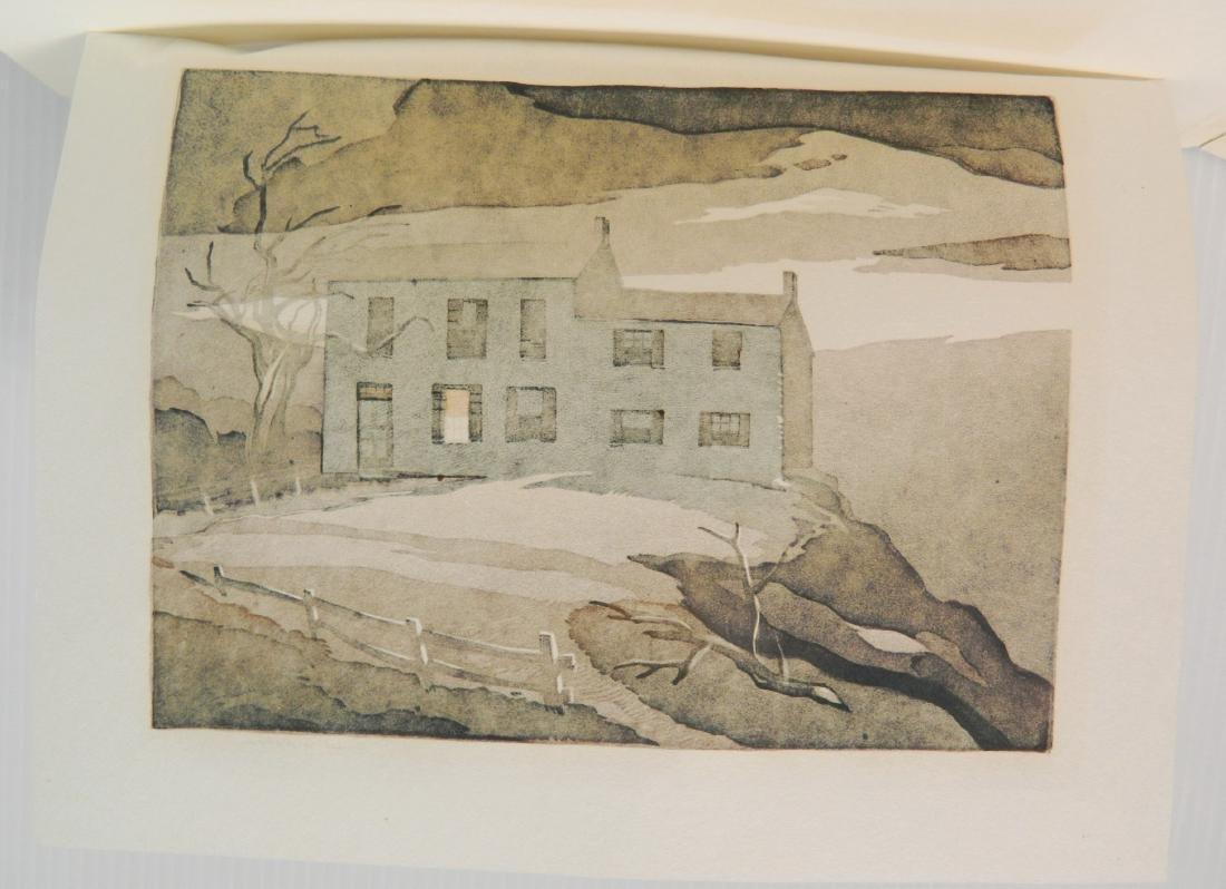 Ernest Watson woodcut - 4
