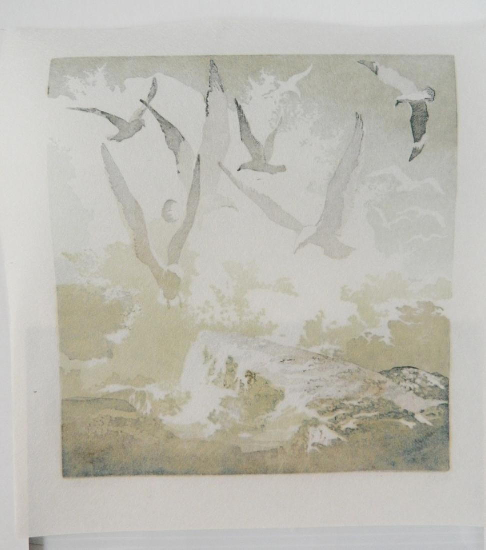 Eva Auld Watson linocut - 4