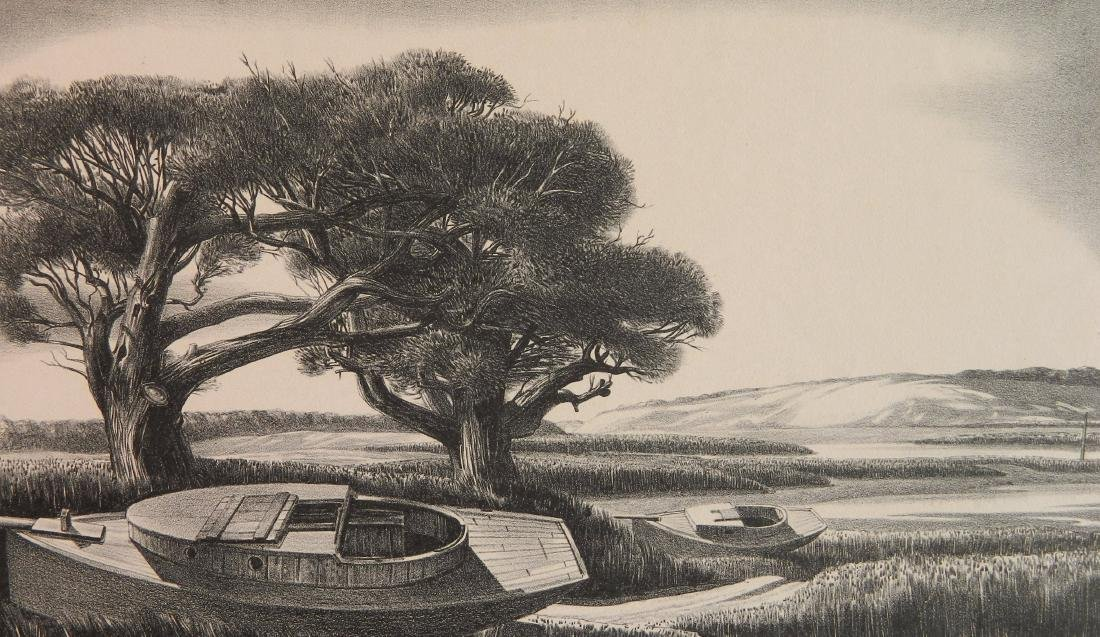 Stow Wengenroth lithograph