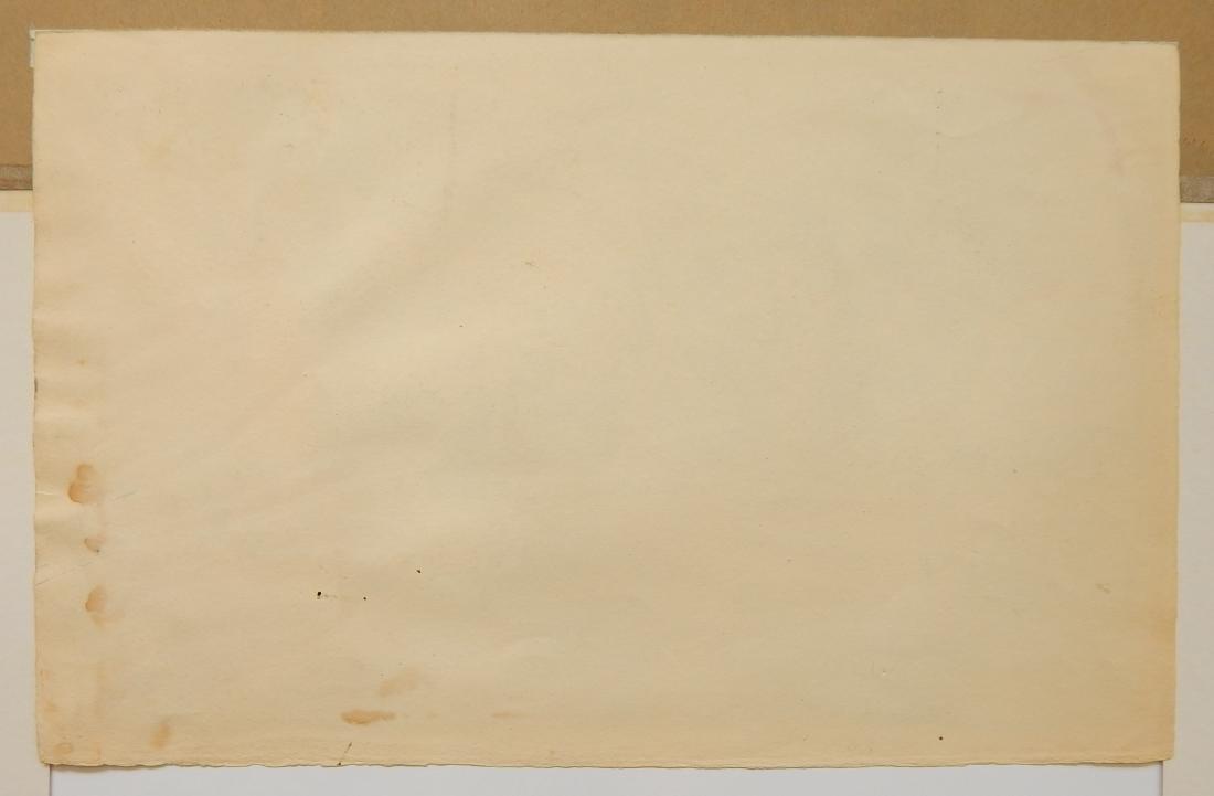 Irving Amen watercolor and crayon - 4