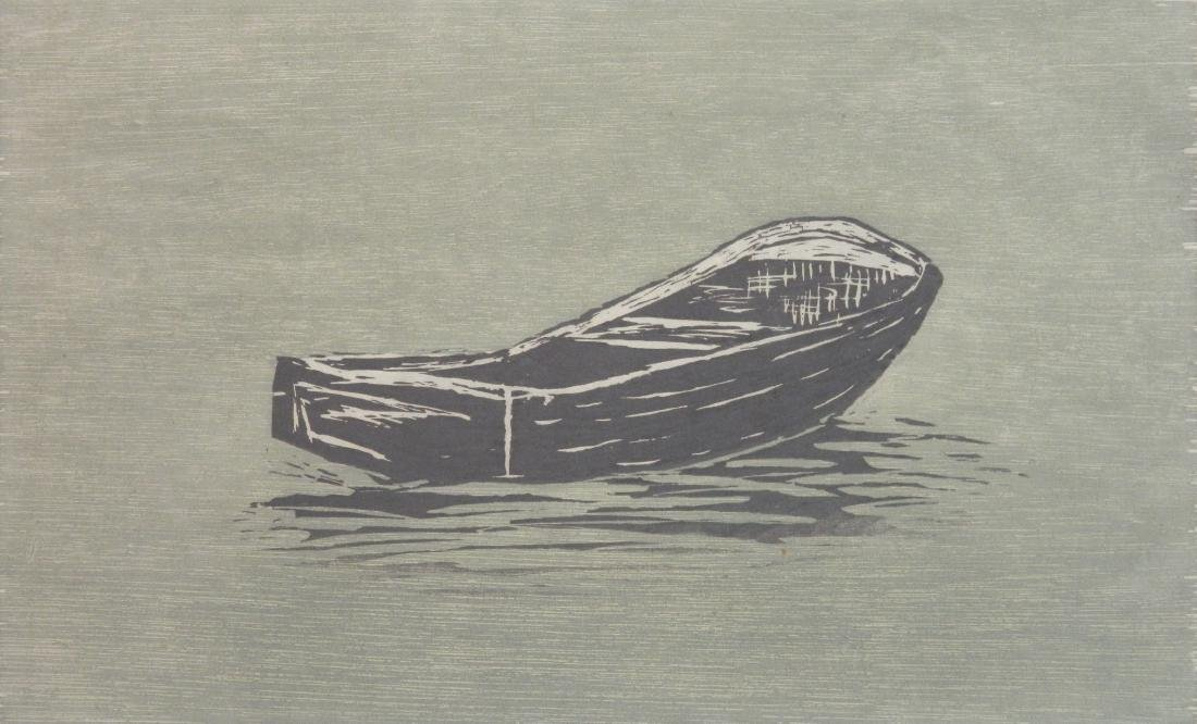 Richard Bosman woodcut