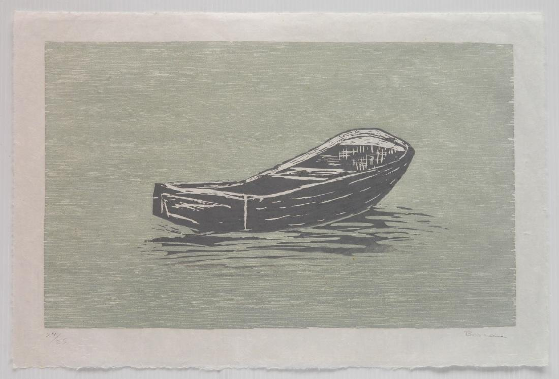 Richard Bosman woodcut - 2