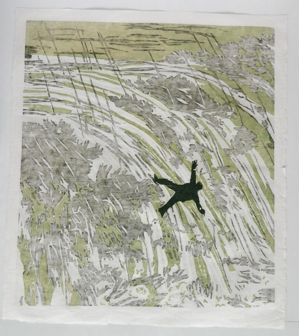 Richard Bosman woodcut - 4