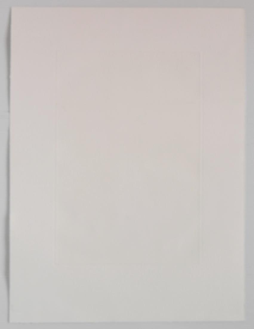 Richard Bosman etching - 4