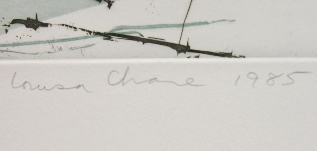 Louisa Chase etching - 3