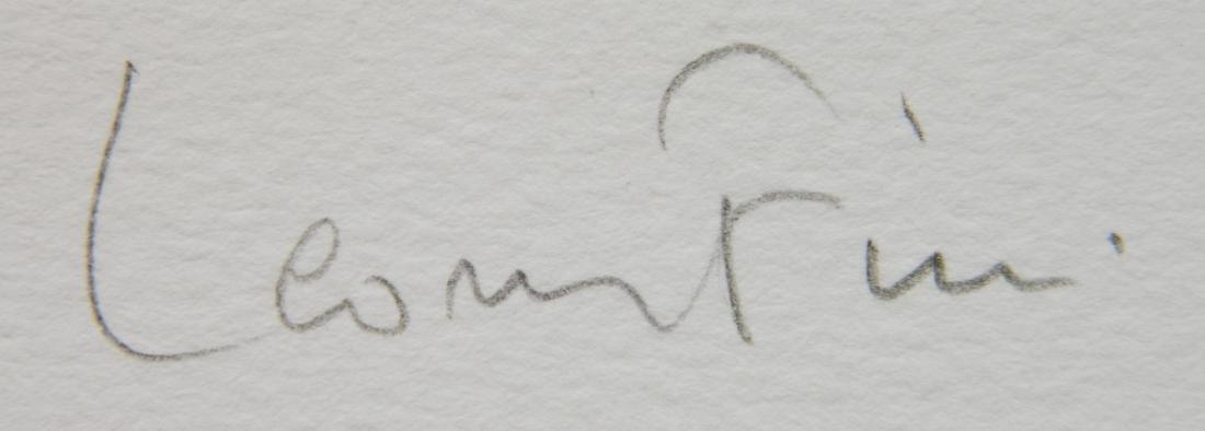 Leonro Fini etching - 3