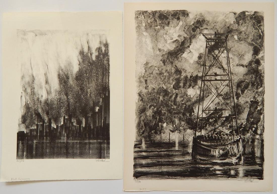 Richard Florsheims lithographs