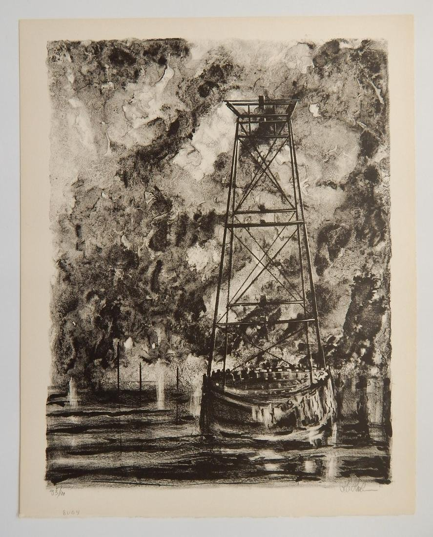 Richard Florsheims lithographs - 2