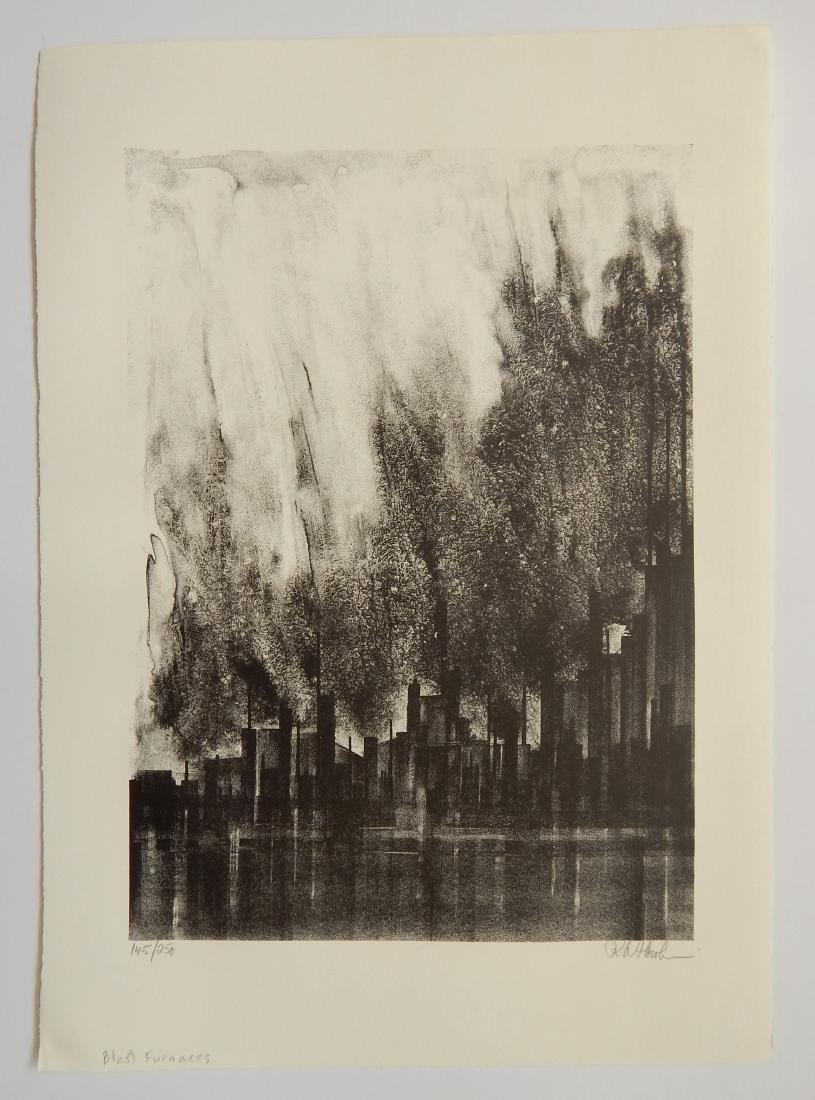 Richard Florsheims lithographs - 5