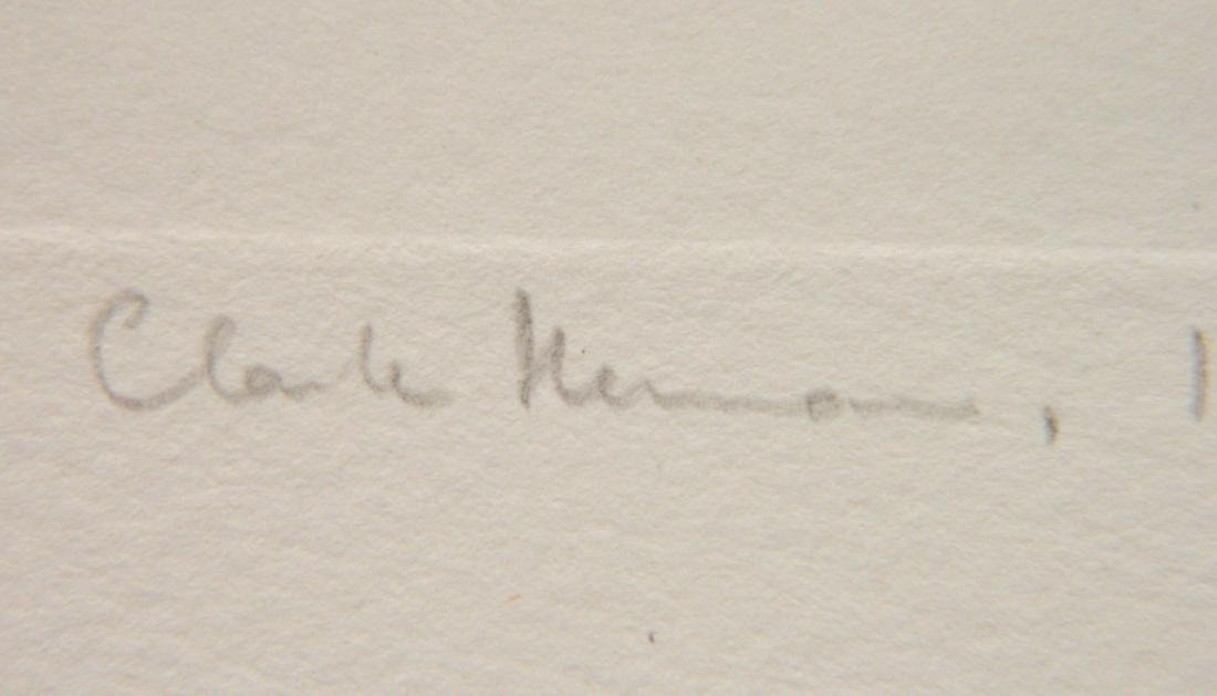 Claude Hermann etching - 3