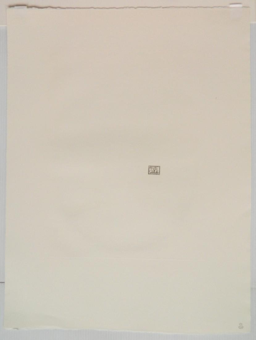 Claude Hermann etching - 4