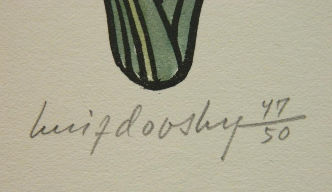 Jacques Hnizdovsky ''Flora Exotica'' woodcuts - 10