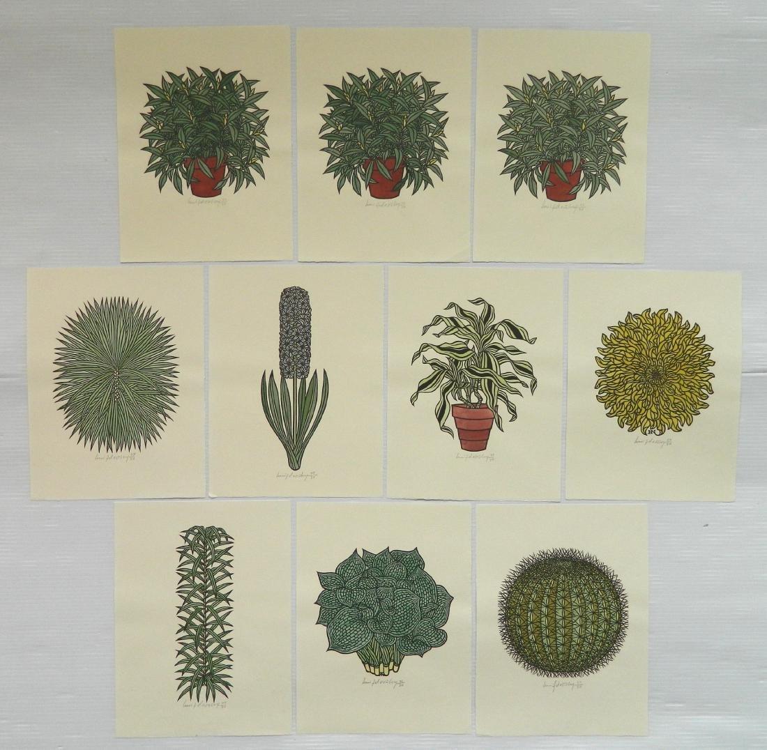 Jacques Hnizdovsky ''Flora Exotica'' woodcuts