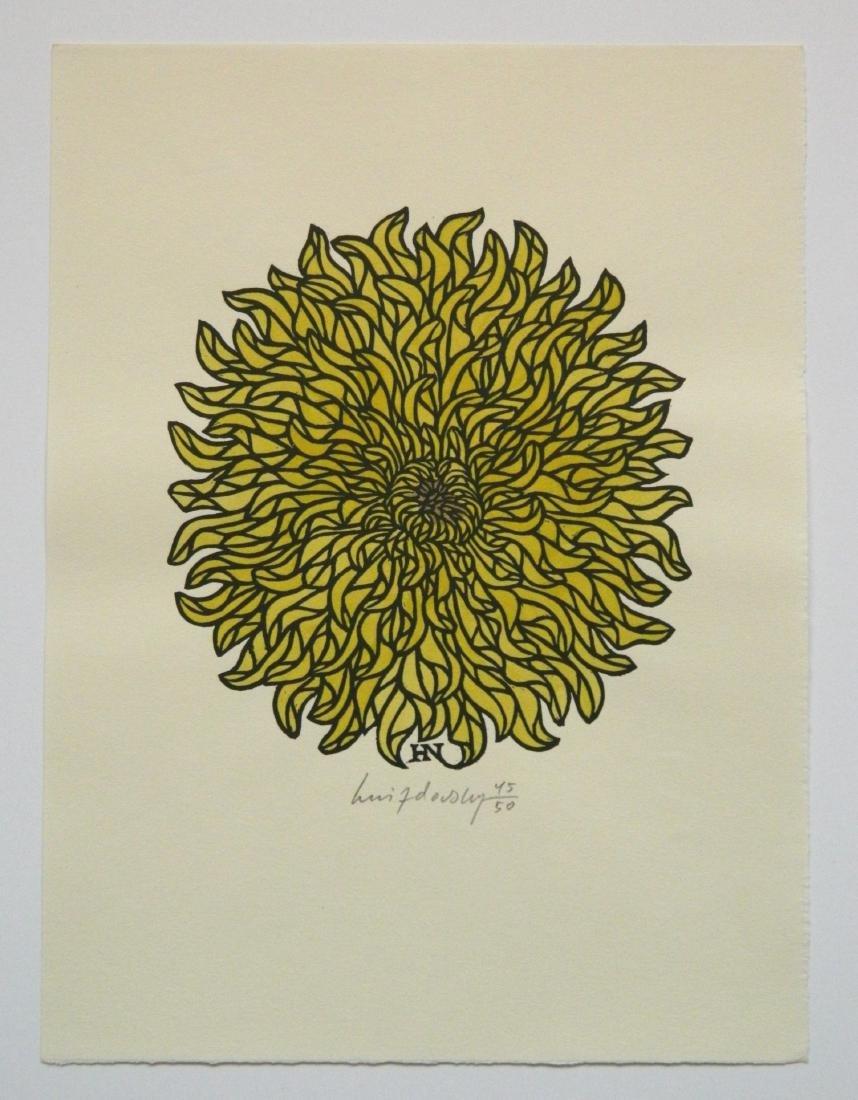 Jacques Hnizdovsky ''Flora Exotica'' woodcuts - 3