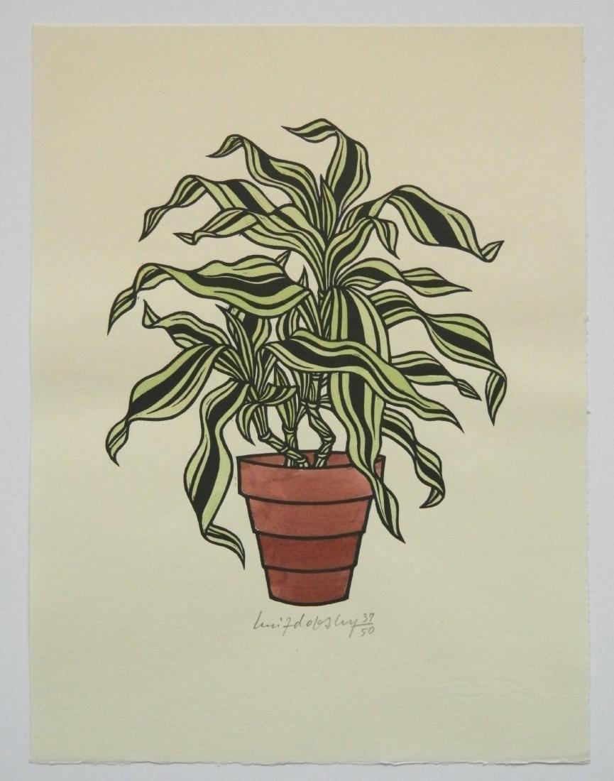 Jacques Hnizdovsky ''Flora Exotica'' woodcuts - 4