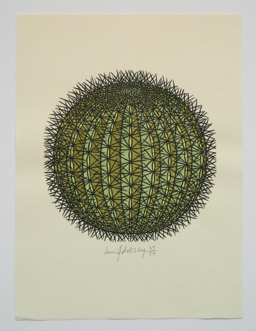Jacques Hnizdovsky ''Flora Exotica'' woodcuts - 5