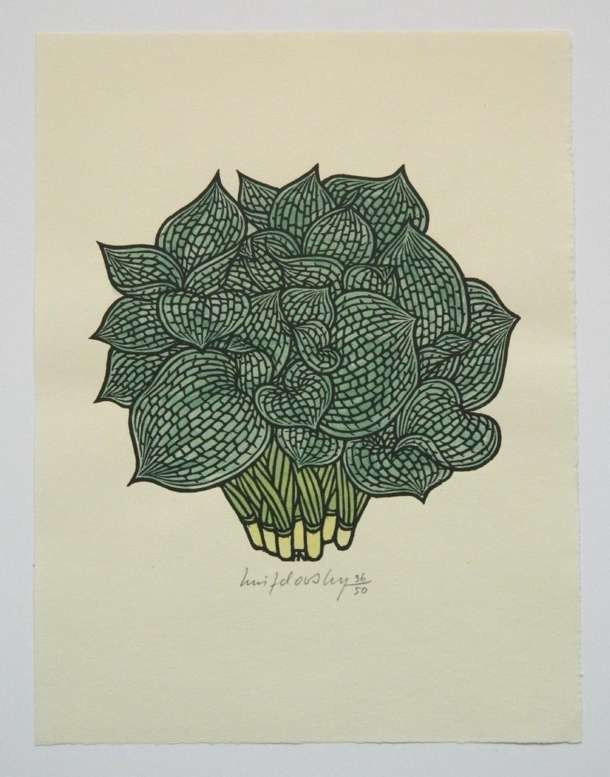 Jacques Hnizdovsky ''Flora Exotica'' woodcuts - 7