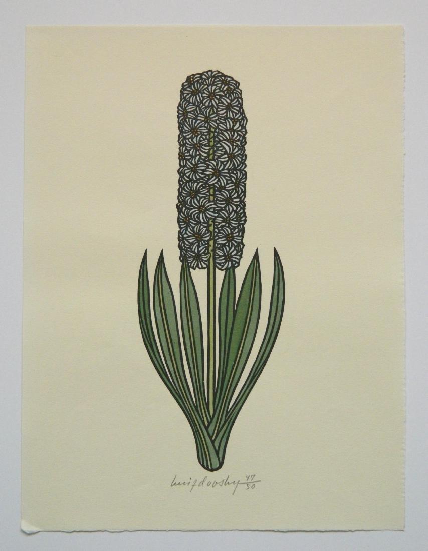 Jacques Hnizdovsky ''Flora Exotica'' woodcuts - 9