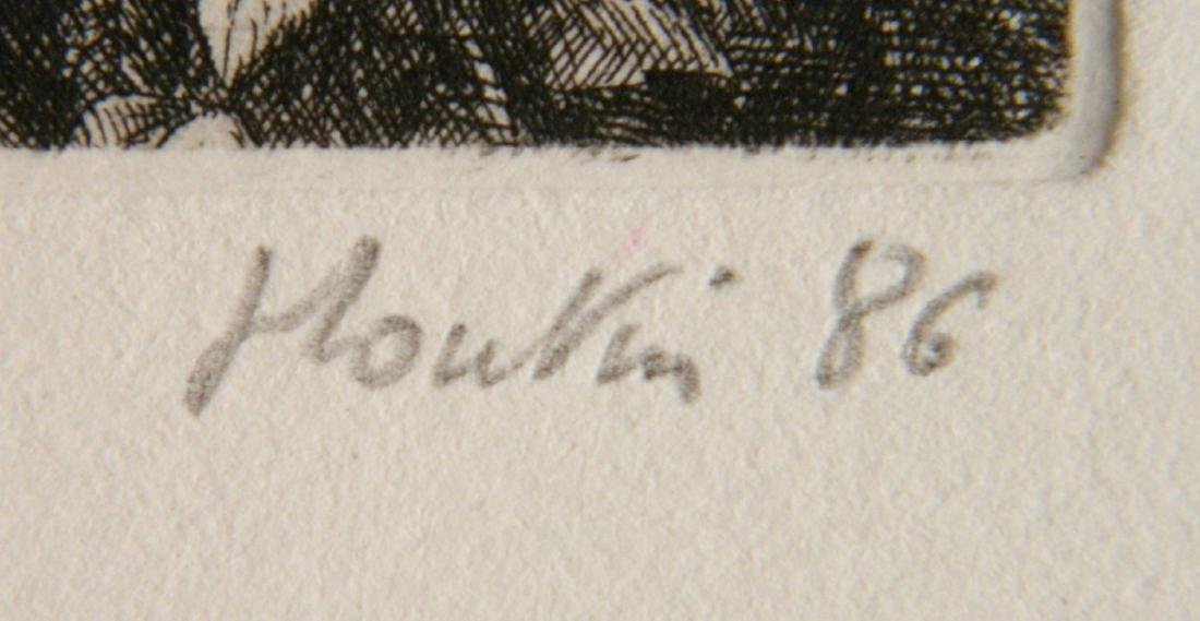 Francois Houtin etching - 3