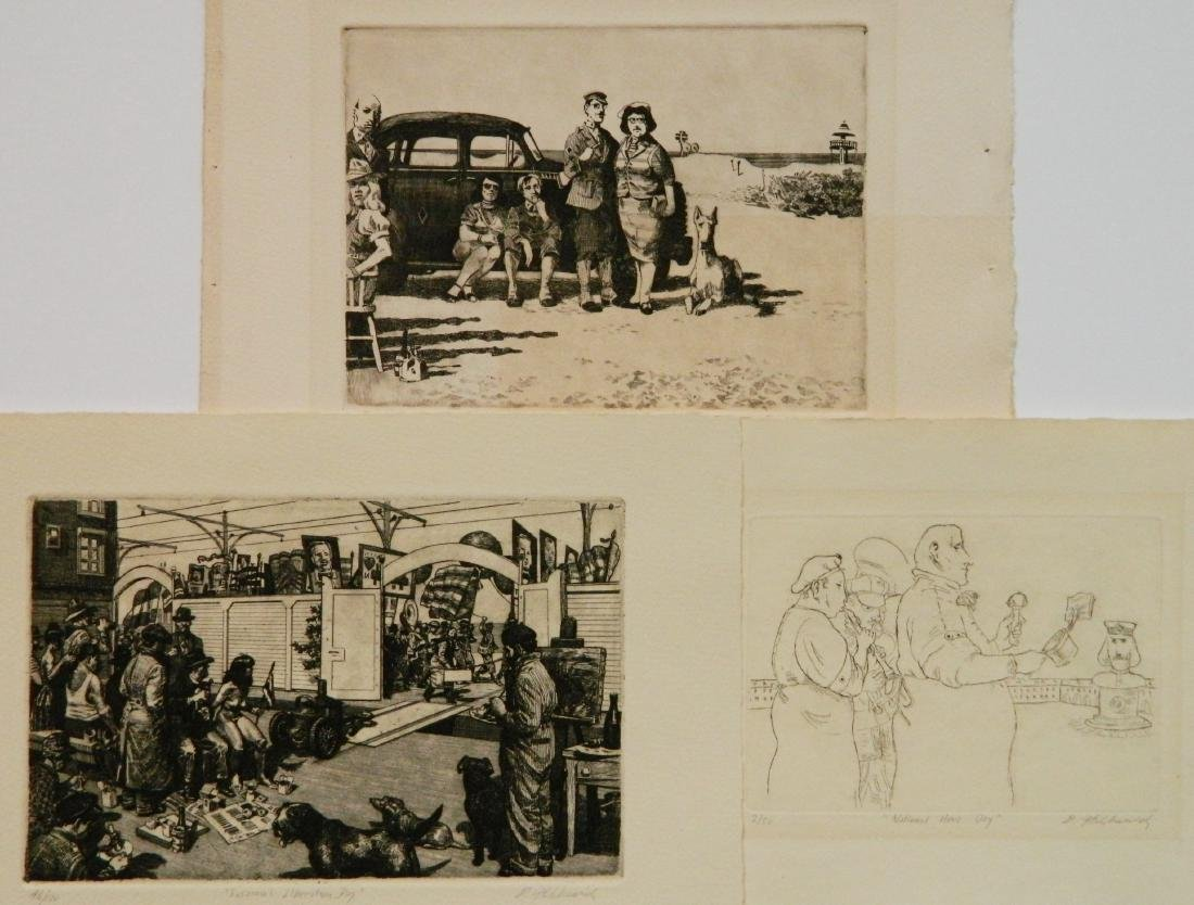 David Itchkawich etchings