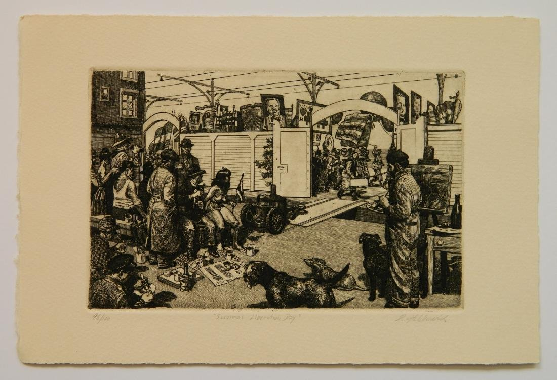 David Itchkawich etchings - 3