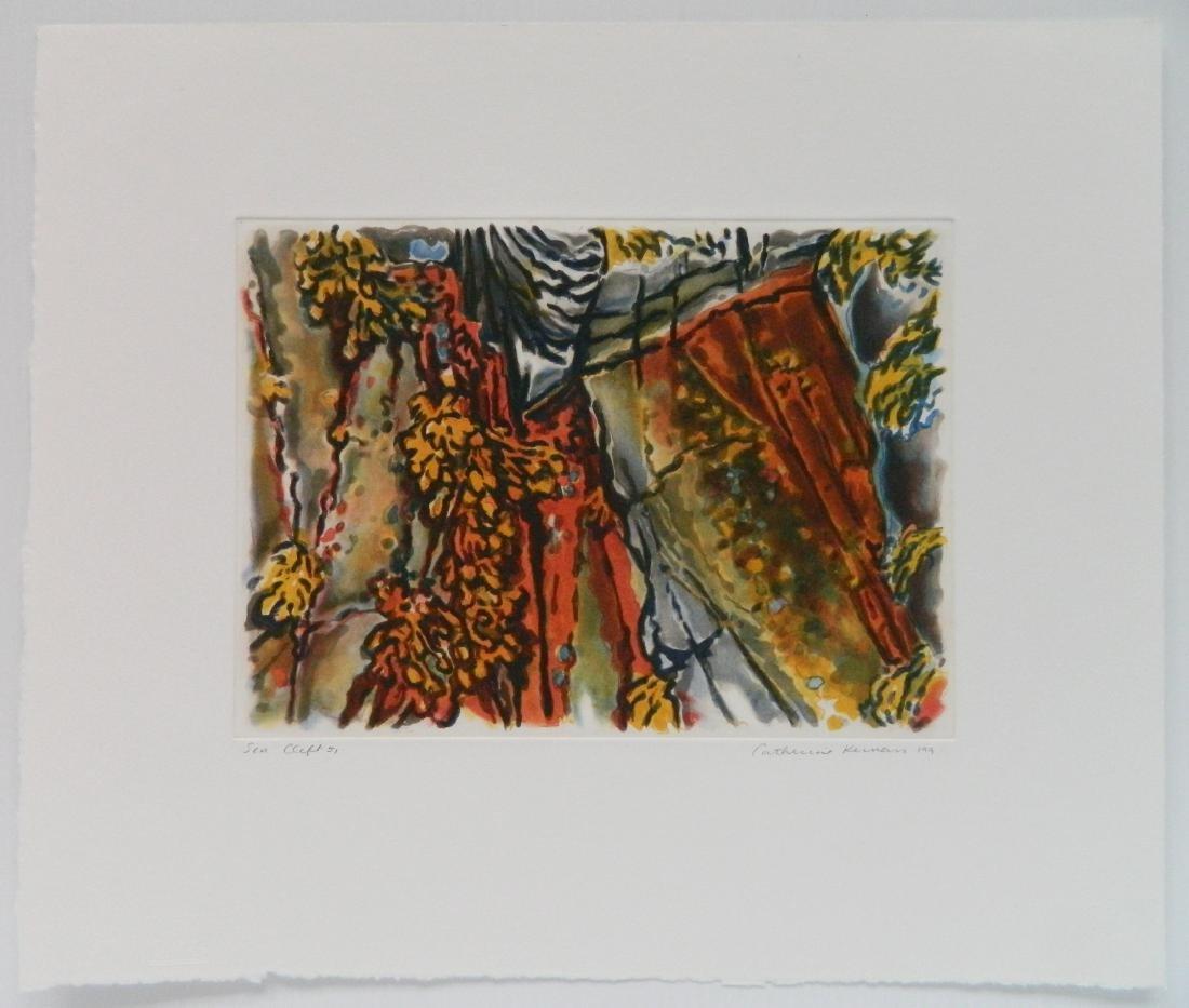 Catherine Kernan etching and aquatint - 2