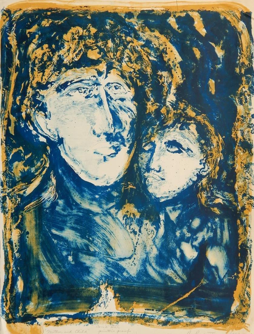 Rudy Pozzatti lithograph