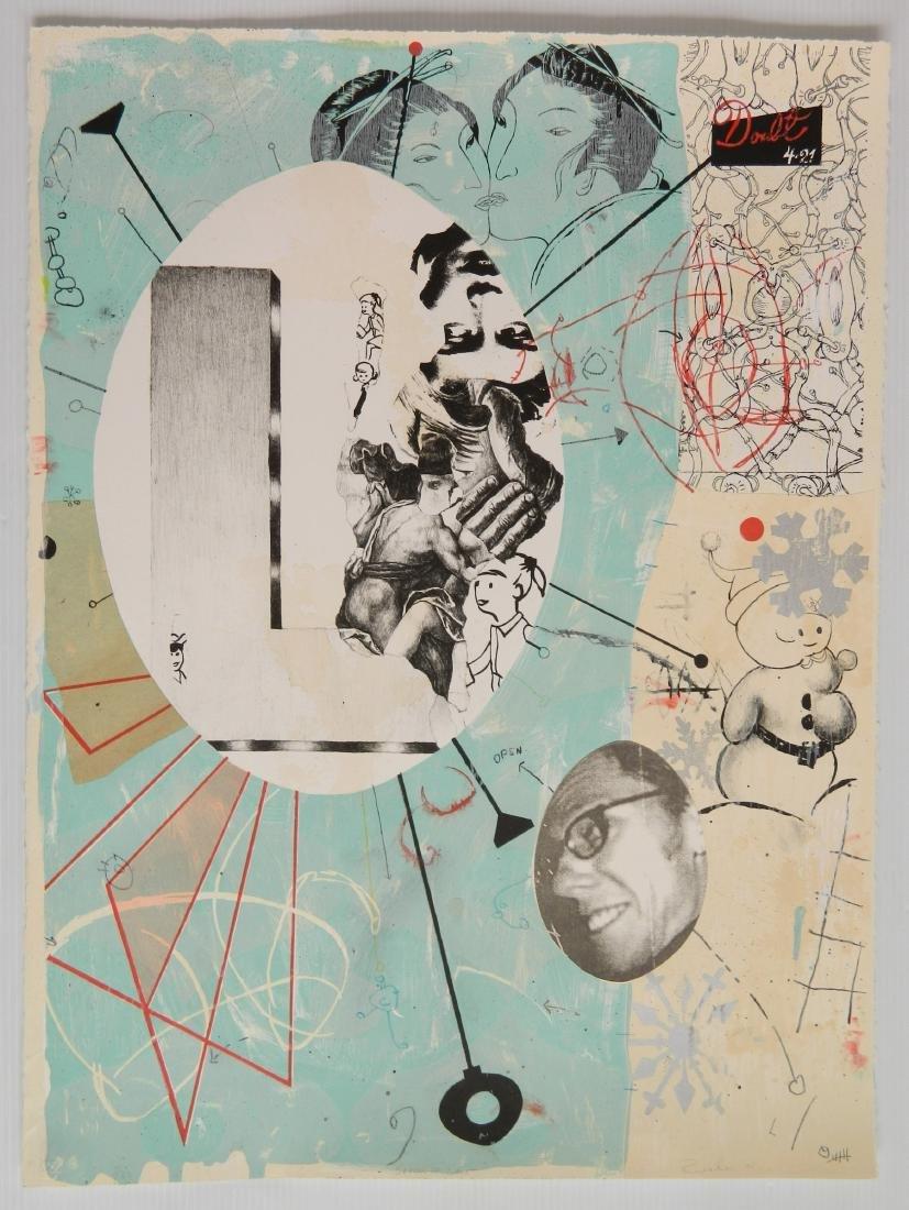 Jon Rappleye lithograph - 2