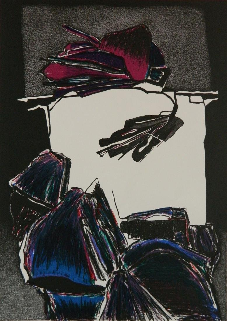 Deborah Remington lithograph
