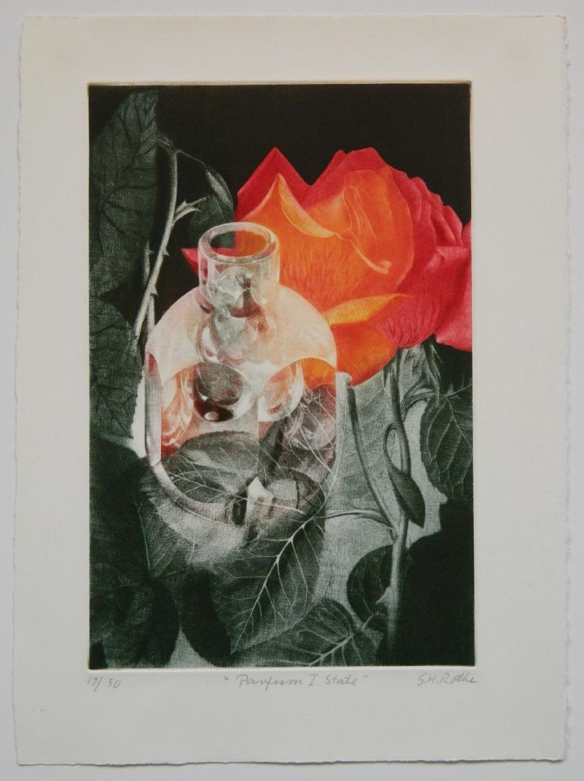 Gatja Rothe mezzotint in colors - 2