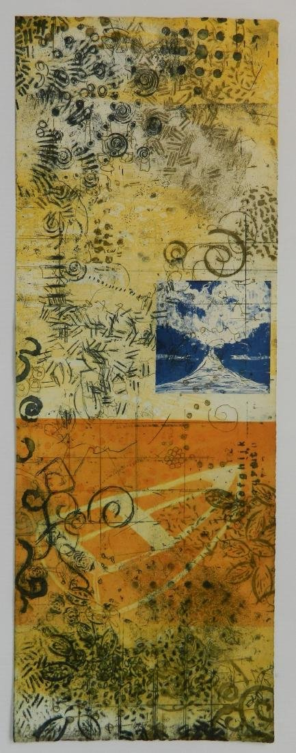 Cheryl Warrick etching in colors - 2