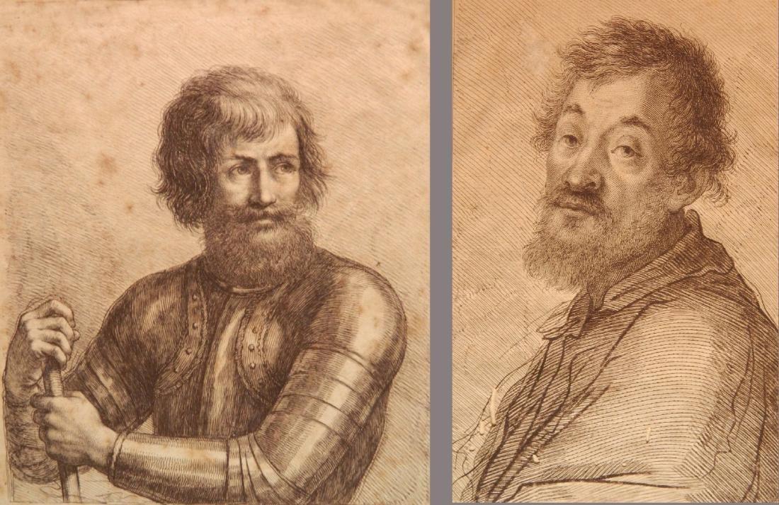Francesco Bartolozzi 2 engravings
