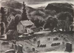 Daniel J Murphy lithograph