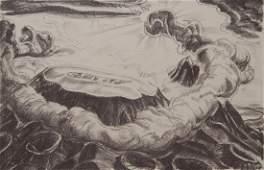 Paul Travis lithograph