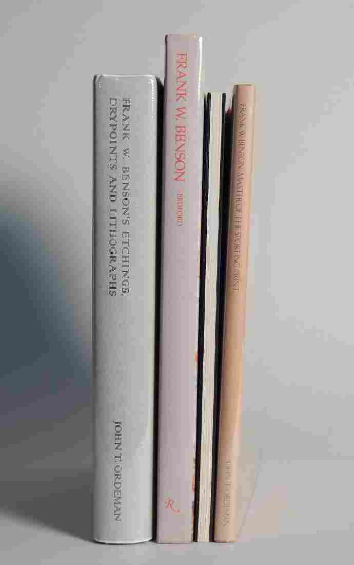 4 Books on Frank W. Benson