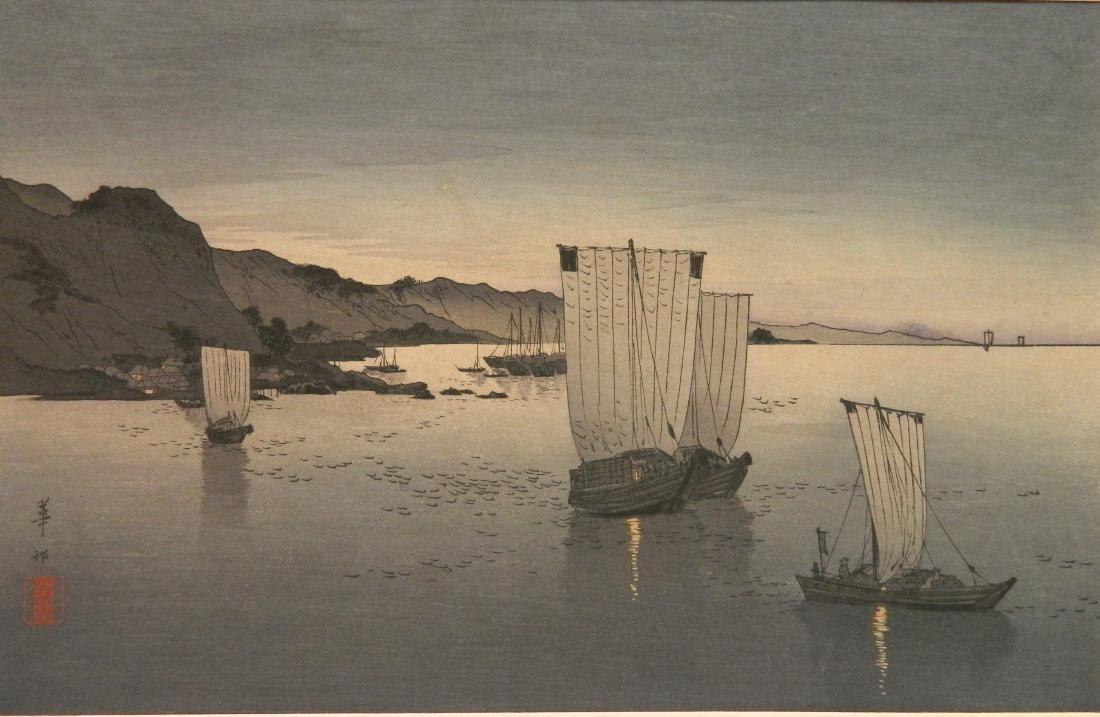 Kason Suzuki woodblock