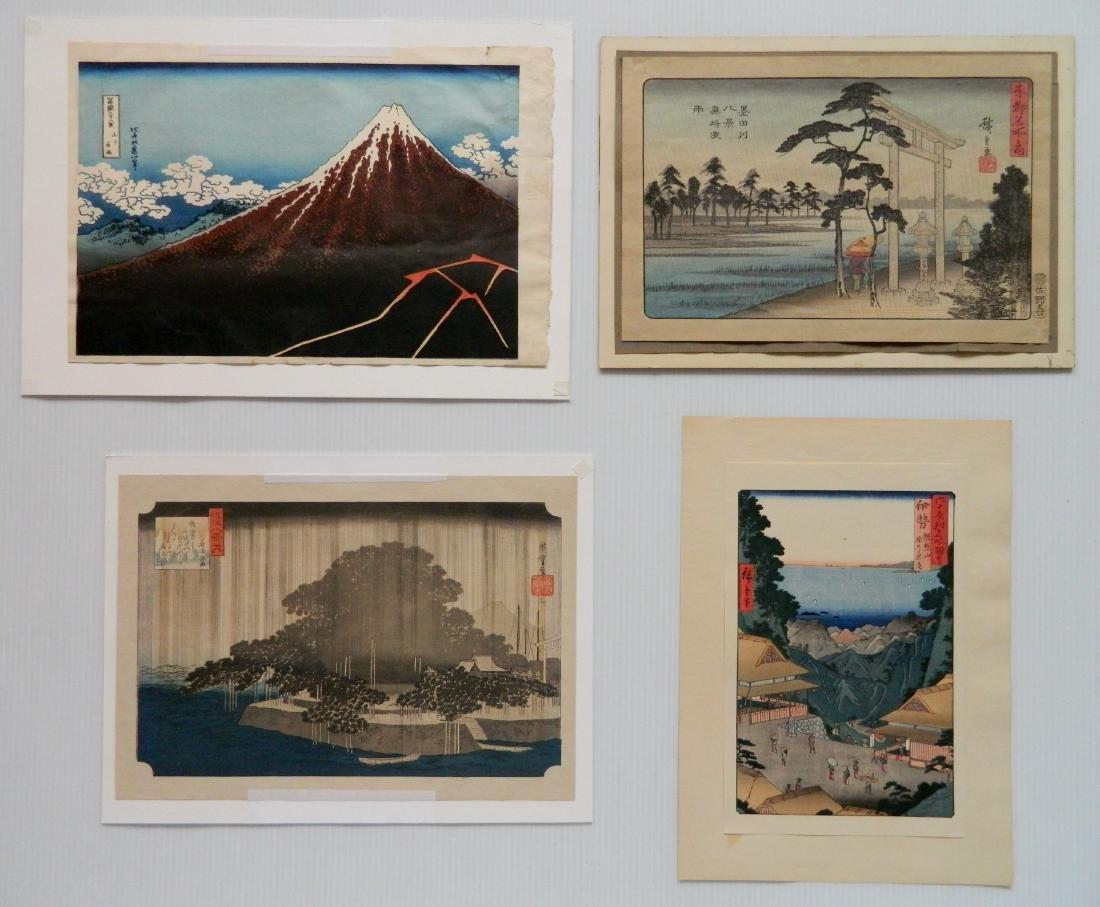 after Hiroshige Utagawa prints