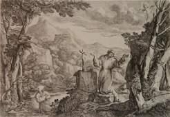 Giovanni Francesco Grimaldi etching