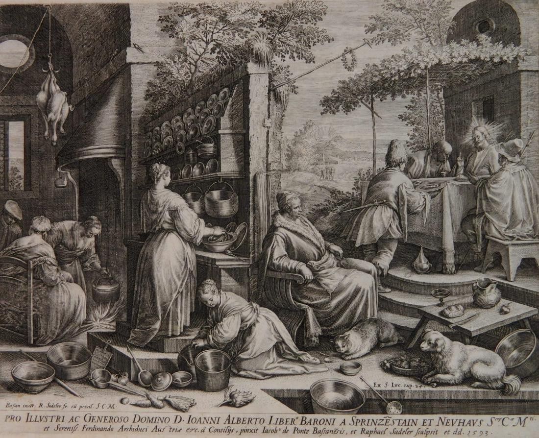 Raphael Sadeler I etching