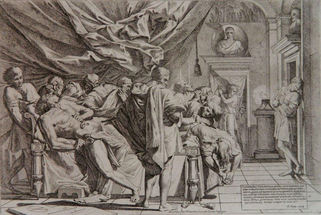 Pietro Testa etching